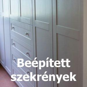 Bútorasztalos - Beépített szekrények