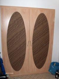 beépített szekrény betétes ajtóval- abutorasztalos.hu