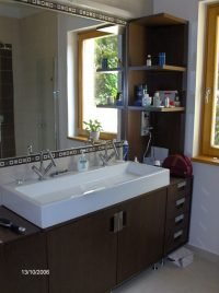 minimal fürdőszoba szekrény - abutorasztalos.hu
