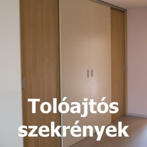 Bútorasztalos - Tolóajtós szekrények